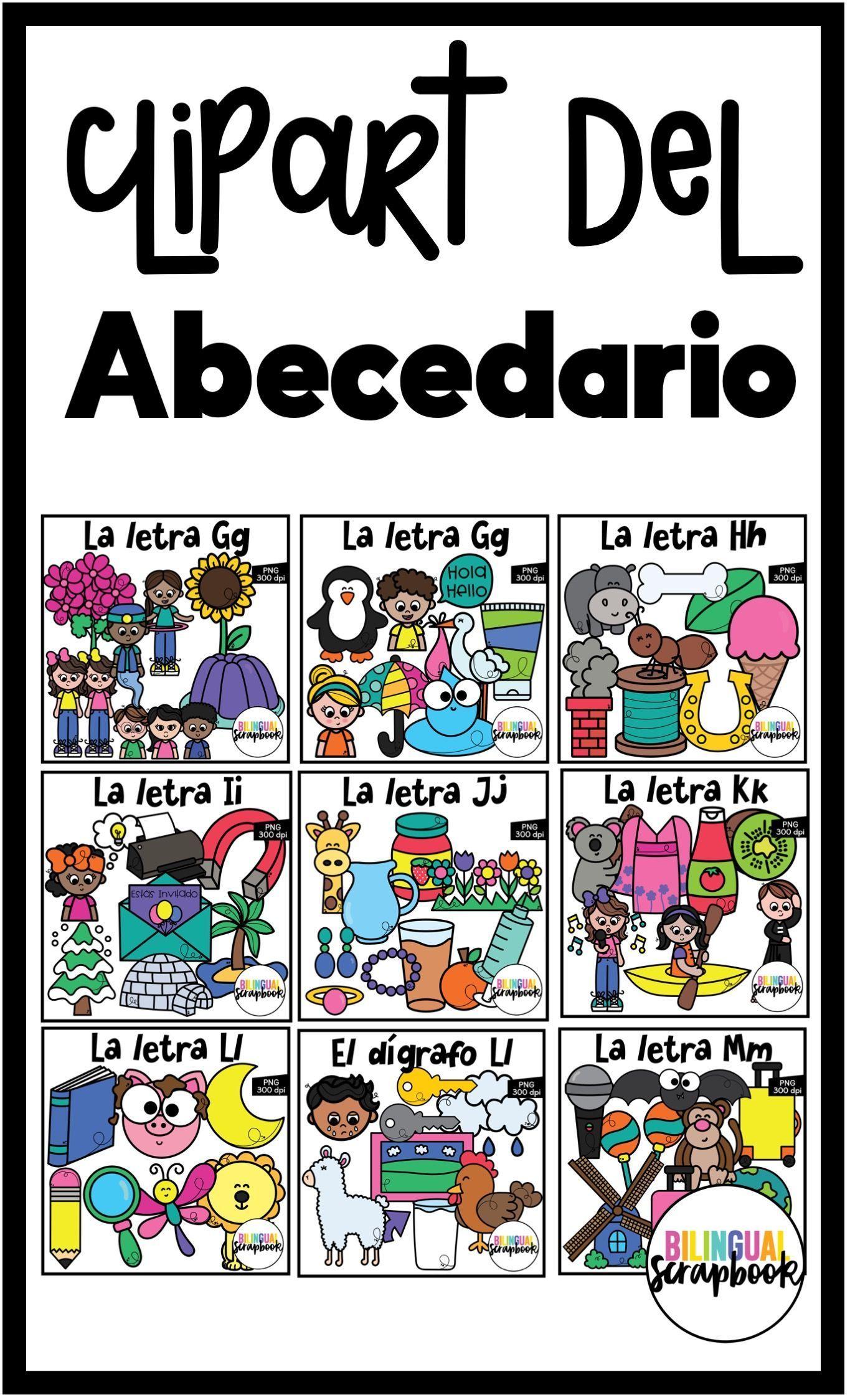 Abecedario En Espanol Spanish Alphabet Clipart Spanish Alphabet Alphabet Common Core Kindergarten Reading [ 2248 x 1365 Pixel ]