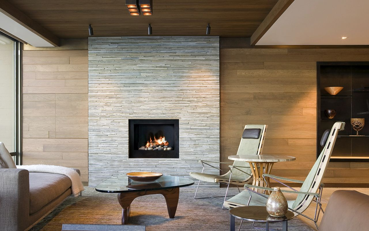 A Twist Of Previous Brick Fireplaces In 15 Trendy And Modern Dwelling Rooms    Fireplace Modern Living Room Living Room Room Room Fireplace Living Room