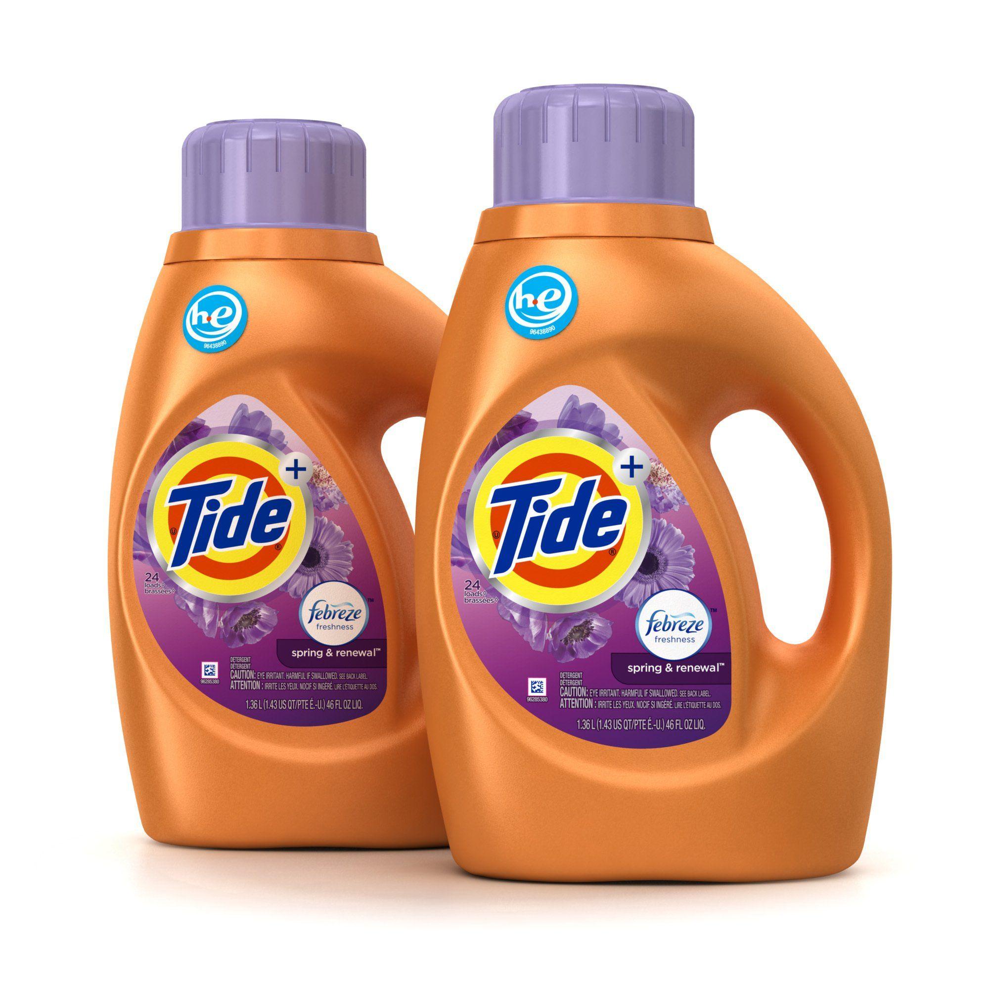 Amazon Com Tide Plus Febreze Freshness Spring Renewal Scent