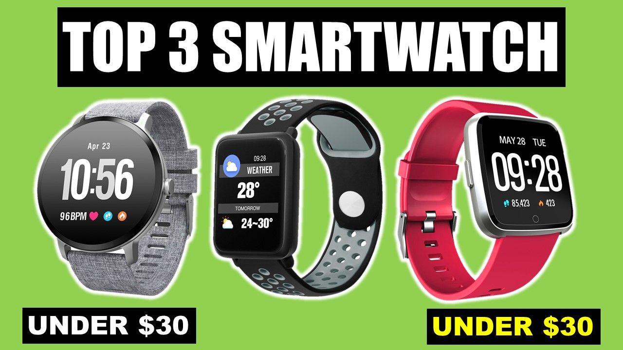 Best Fitness Tracker Top 3 Smartwatches 2019 Smart Watch Fitness Tracker Smart Watch Android