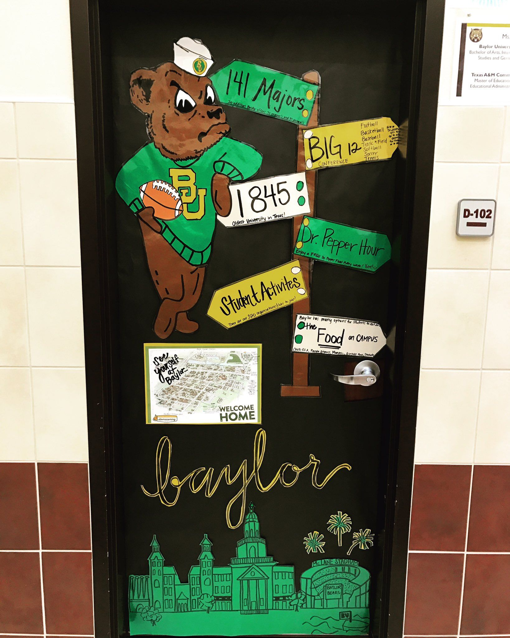 """""""College week means I get to share my love for Baylor, the best university around!"""" // #SicEm!!"""