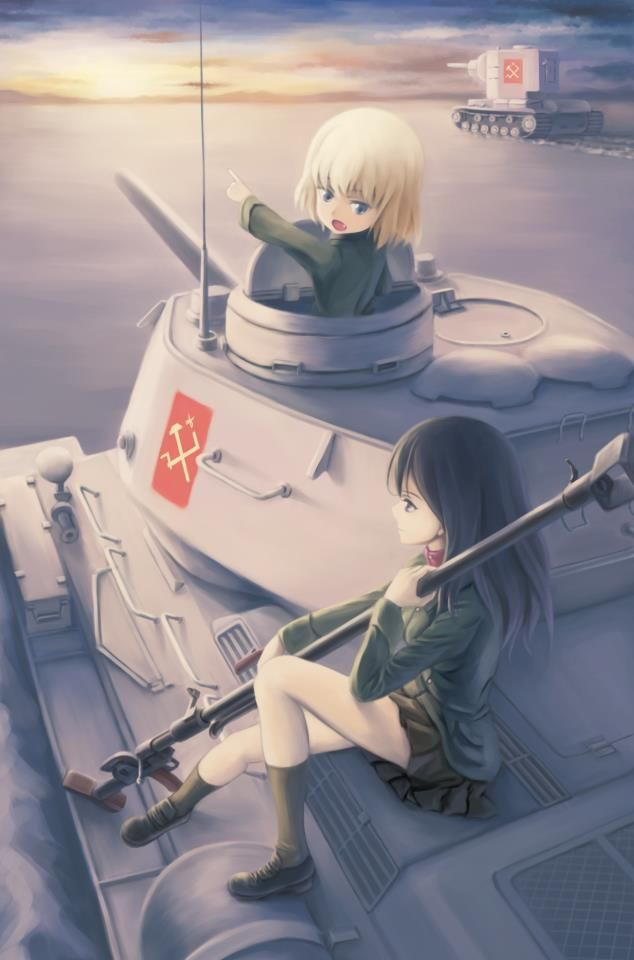 Pin on Girls und Panzer^_^