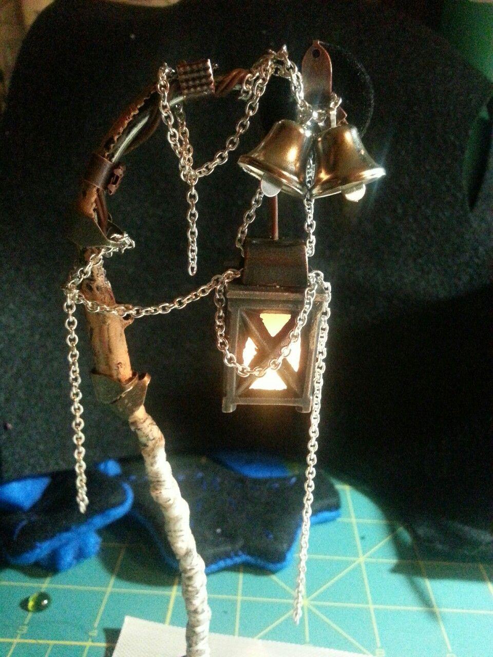 I made a Bloodborne Lantern!