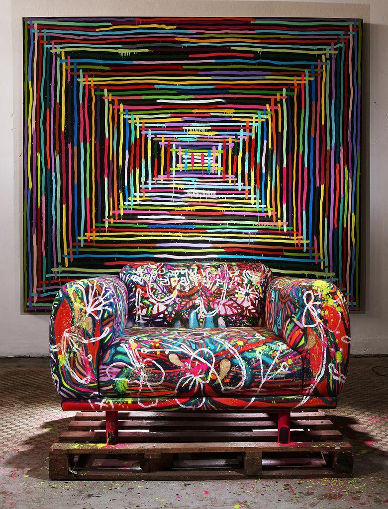 Untitled In 2020 Graffiti Furniture Funky Home Decor