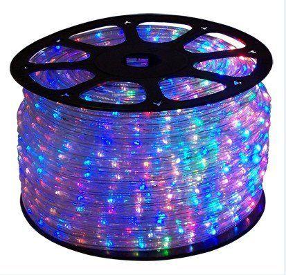 120 Ft Rgb Color Changing 4 Wire 110v 120v Led Rope Light Christmas Lighting Indoor Outdoor Rope Lig Led Rope Lights Outdoor Rope Lights Christmas Lighting