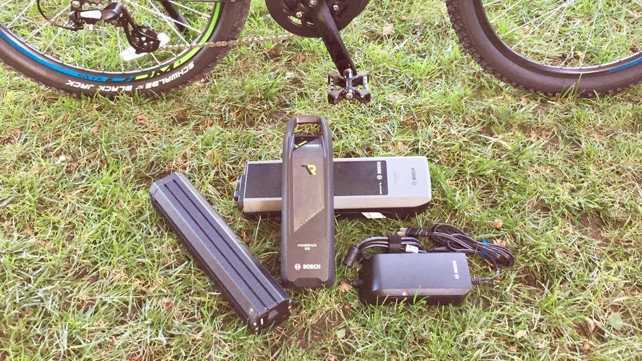 Bosch Electric Bike Battery Comparison Powerpack Vs Powertube