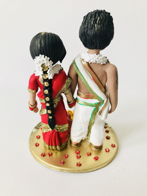 Personalised Tamil Brahmin Madisar Iyyengar Iyer Saree Sari Bride