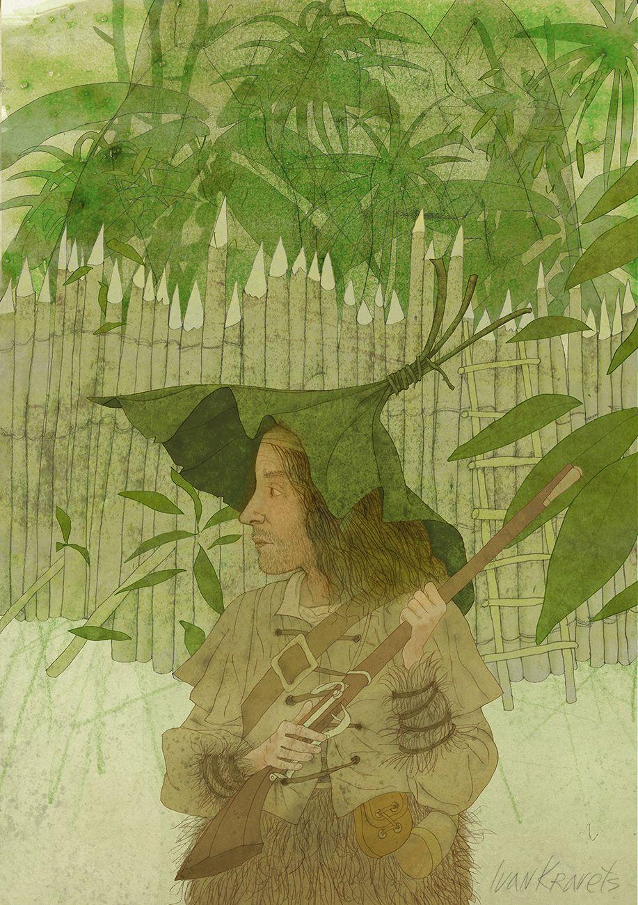 Robinson Crusoe. Illustrations