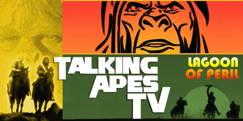 On this installment of Talking Apes TV, Intelligent humanoids invade Earth and citizens of the Planet of the Apes go crazy with this pending doom!