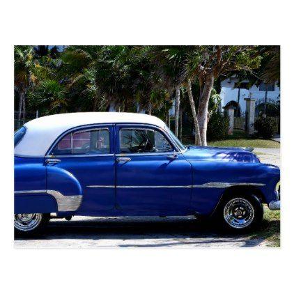 Classic Cars of Cuba 3 Postcard   Zazzle.com