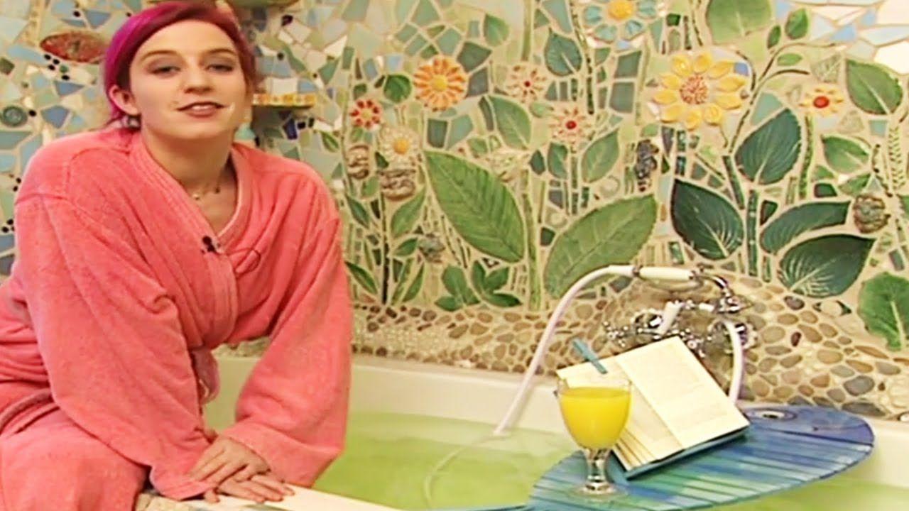 Badezimmer Deko: Wannenablage selber machen | ToolTown ...