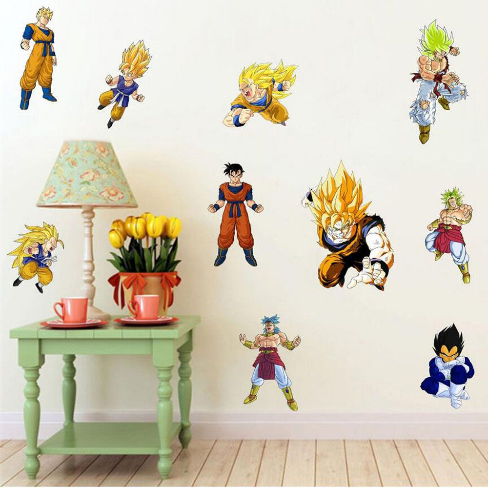 Removable diy 3d dragon ball wall stickers for childrens room removable diy 3d dragon ball wall stickers for childrens room adhesive baby wall decals home decor amipublicfo Images