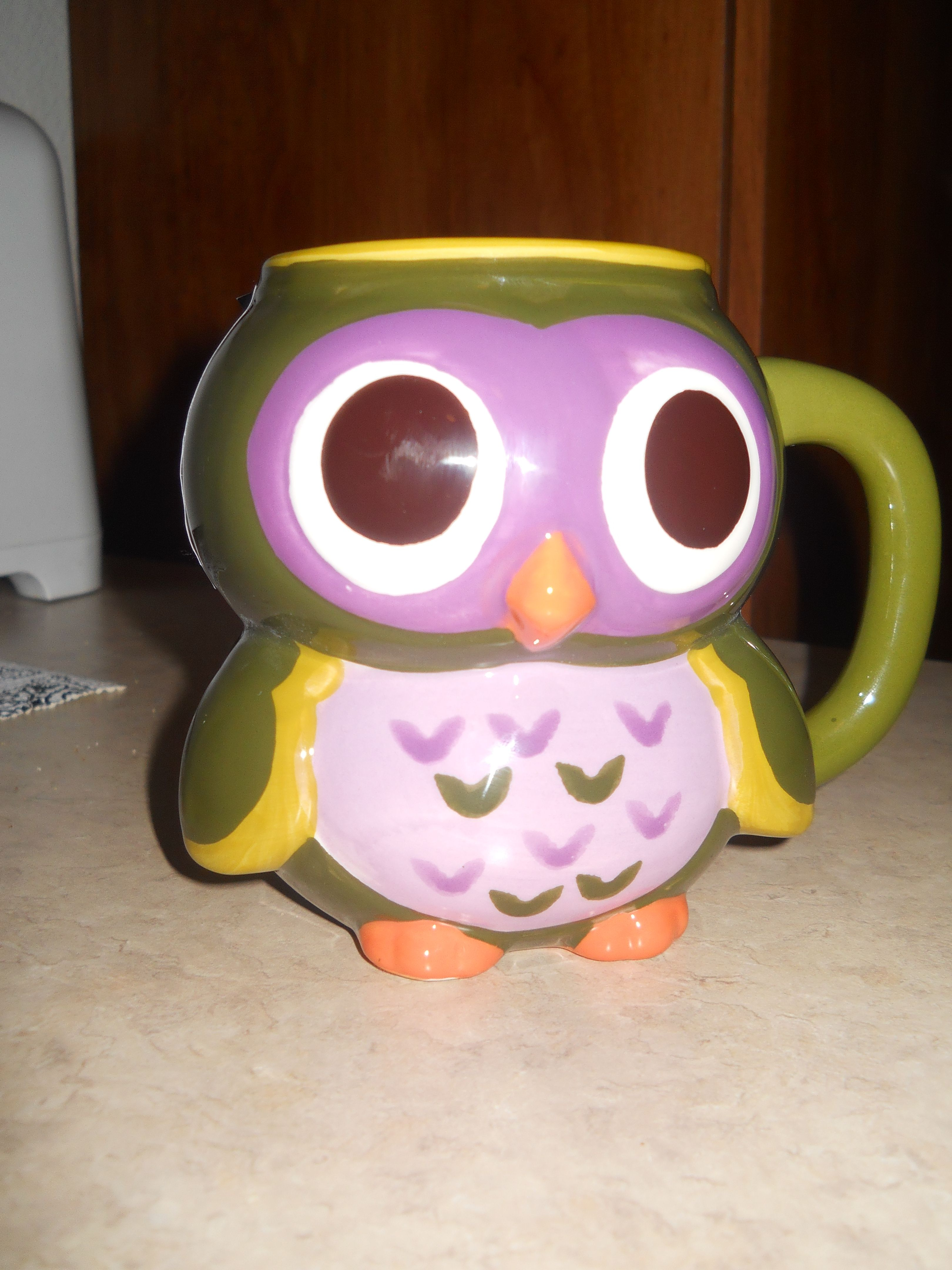 MESA Inspired Living handcrafted owl mug found at Marshalls