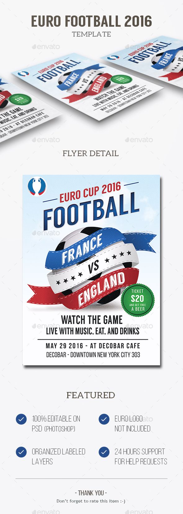Euro Football   Flyer template, Event flyers and Event flyer templates