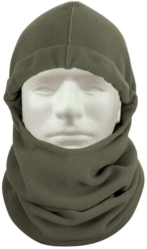 Polar Fleece Adjustable Balaclava Cold Weather Comfy Head & Neck ...