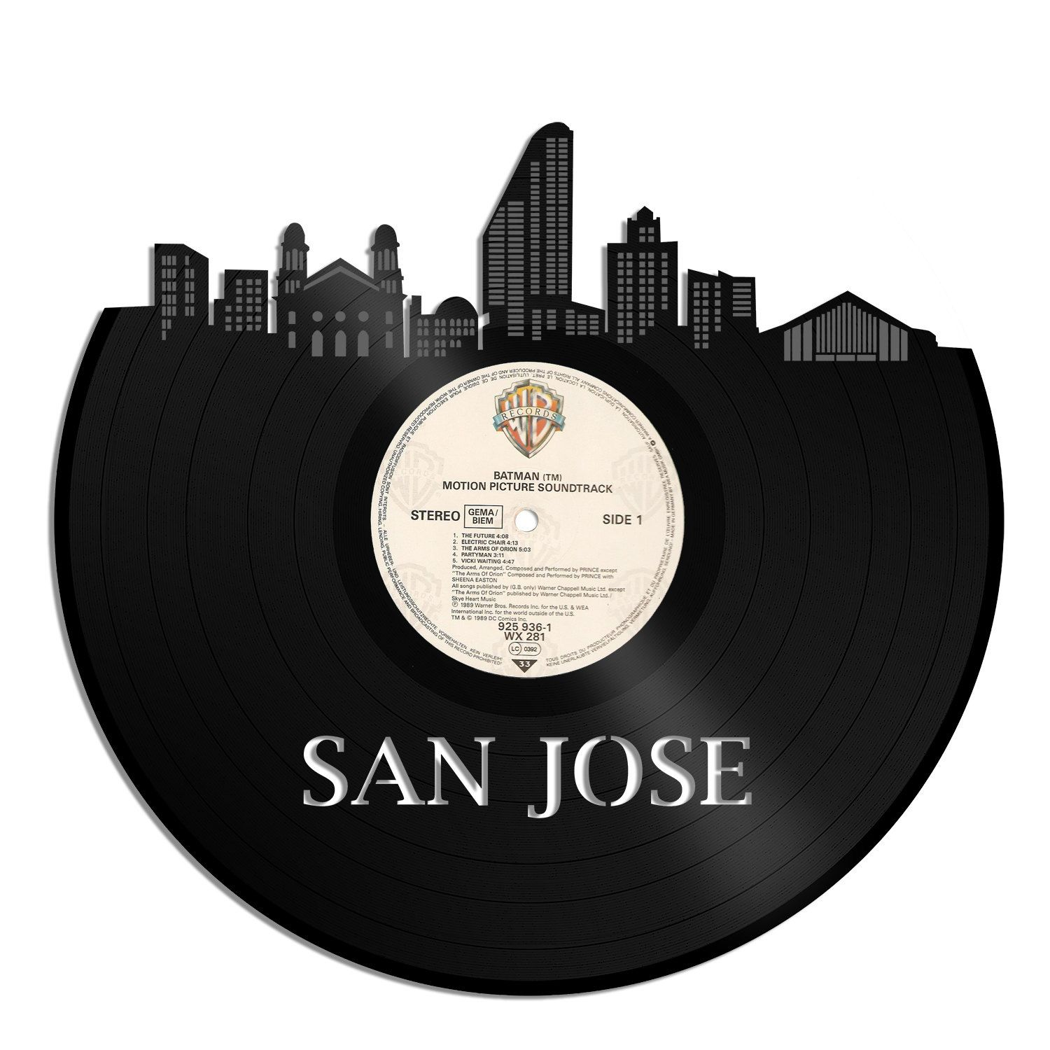 san jose ca vinyl records