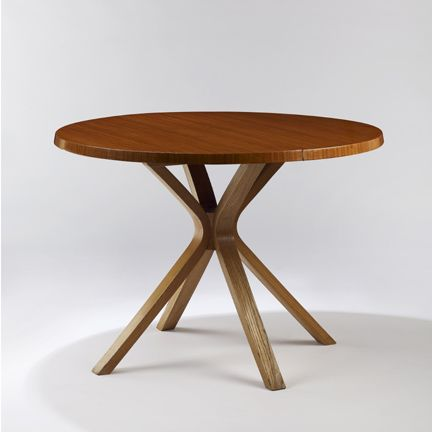 Joseph-André Motte; Wood Dining Table, 1957 F_Tables Pinterest
