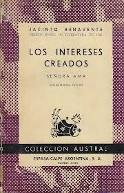 Los Intereses Creados Jacinto Benavente Book Cover Books Convenience Store Products