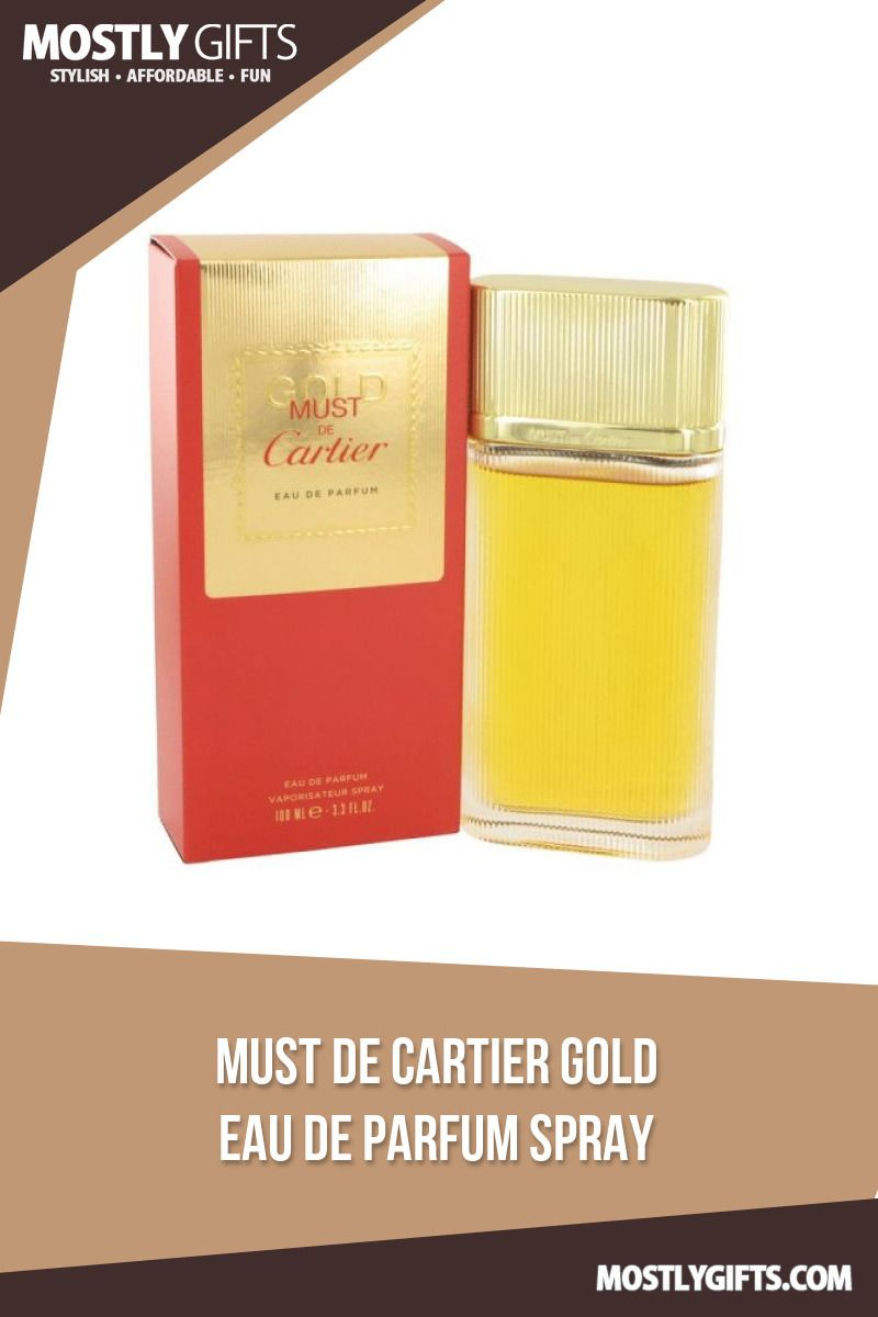 Must De Cartier Gold By Cartier Eau De Parfum Spray 33 Ozorder