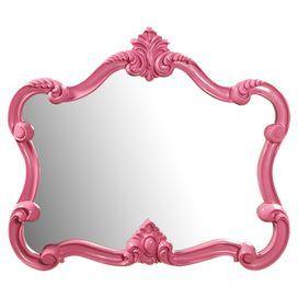 Veruca Wall Mirror in Pink