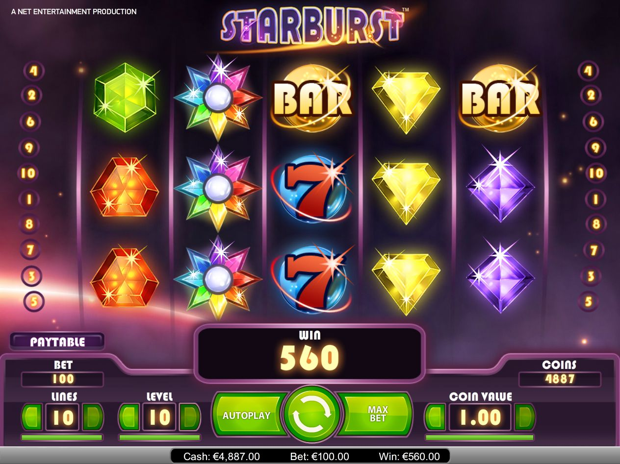 Play an entertaining slot games with new features