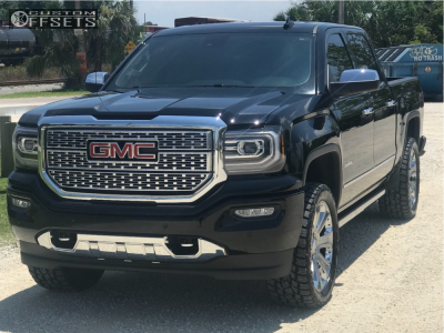This 2018 Gmc Sierra 1500 4wd Is Running Oe Performance 113 22x9