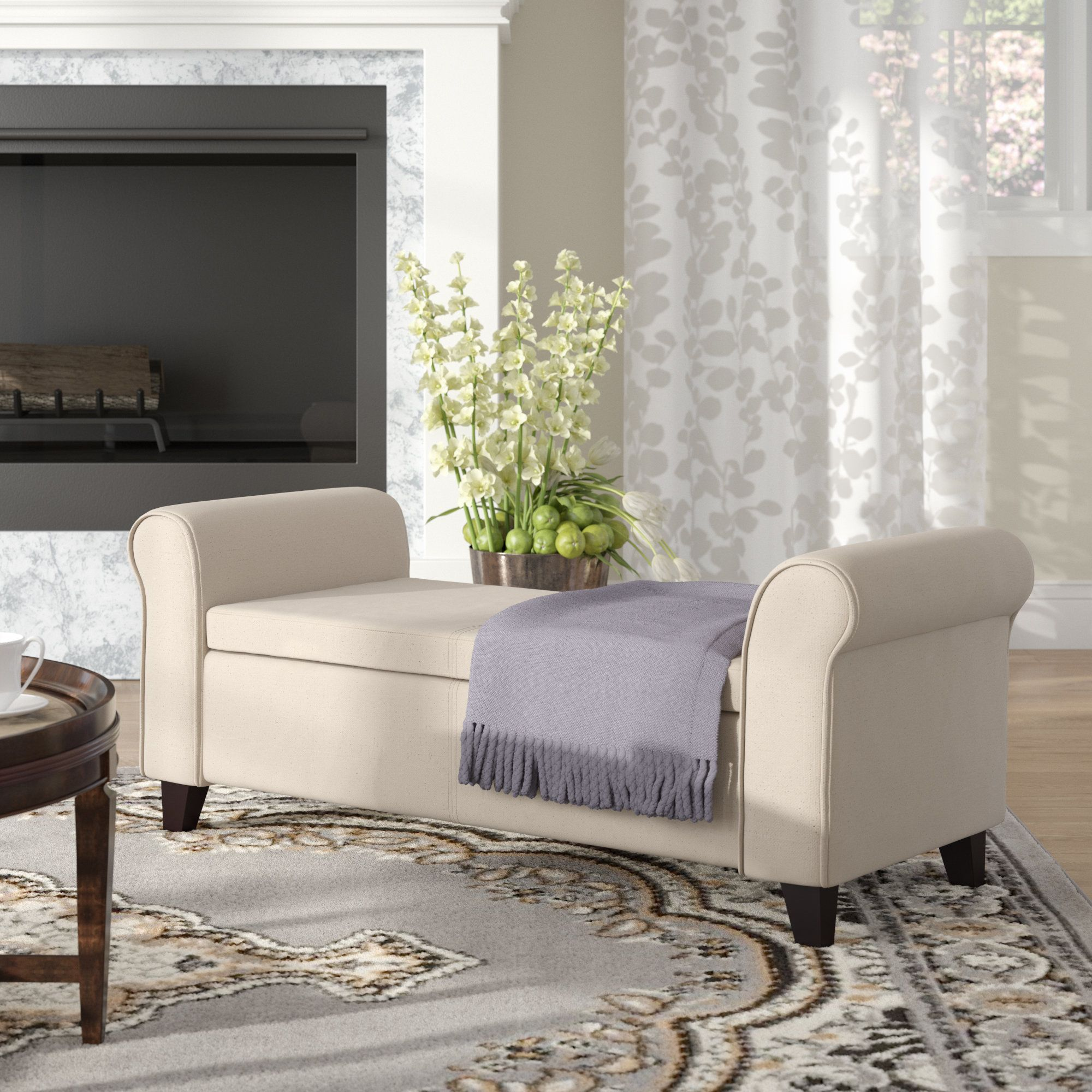 Metzger Convertible Chaise Lounge in 2020 Diy storage