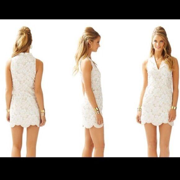 092426bba0 NWT Lilly Pulitzer Estella shift dress sz 00 Brand new