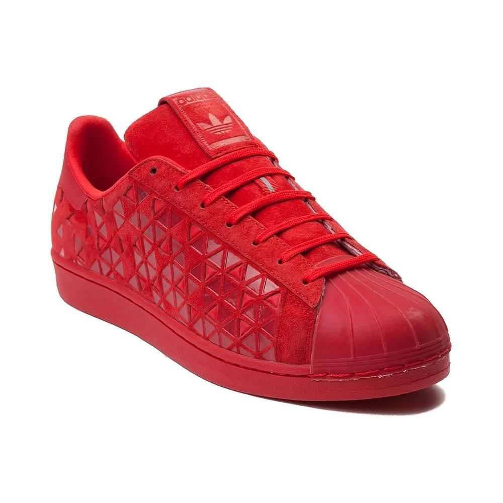 Adidas Superstar Xeno Casual Shoes Men Red/Red