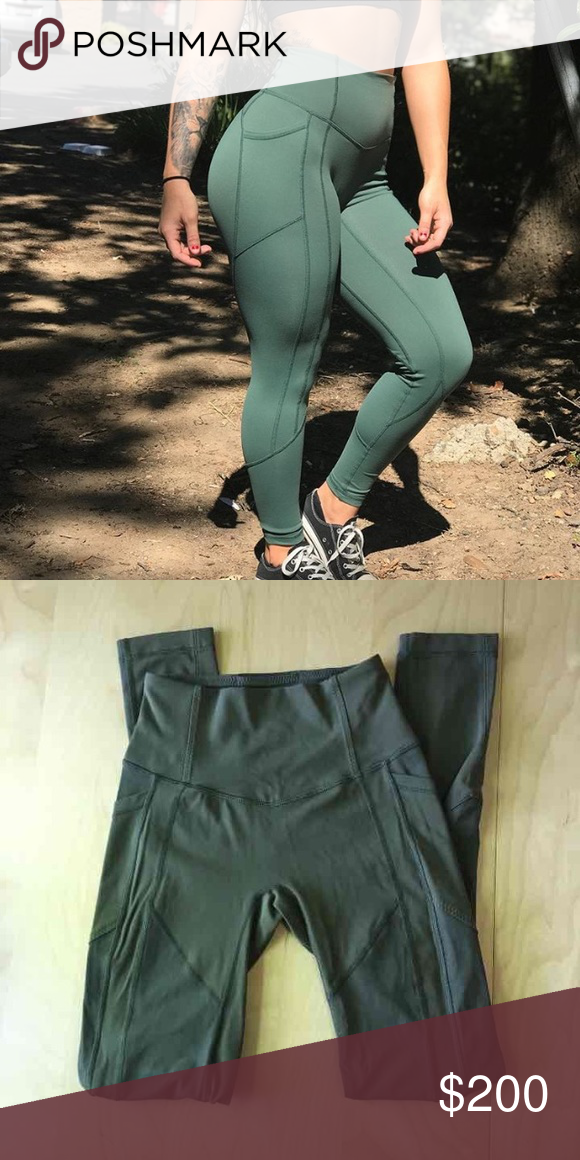 ff9a1fe62b Lululemon all the right places crop Lululemon DUPE (fake)! Size XS (fits size  4 in lululemon). Perfect condition. Cheaper on 🅿 🅿 . lululemon athletica  ...