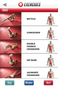easy/medium/hard/expert ab workouts  full ab workout abs