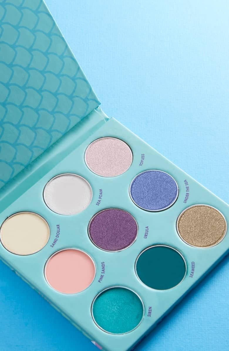 Winky Lux Mermaid Kitten Palette Mermaid Gifts Winky Lux Mermaid Makeup