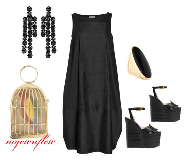 """""""DAY PARTY"""" by myownflow on Polyvore featuring Gucci, Charlotte Olympia, Simone Rocha and Tom Ford"""