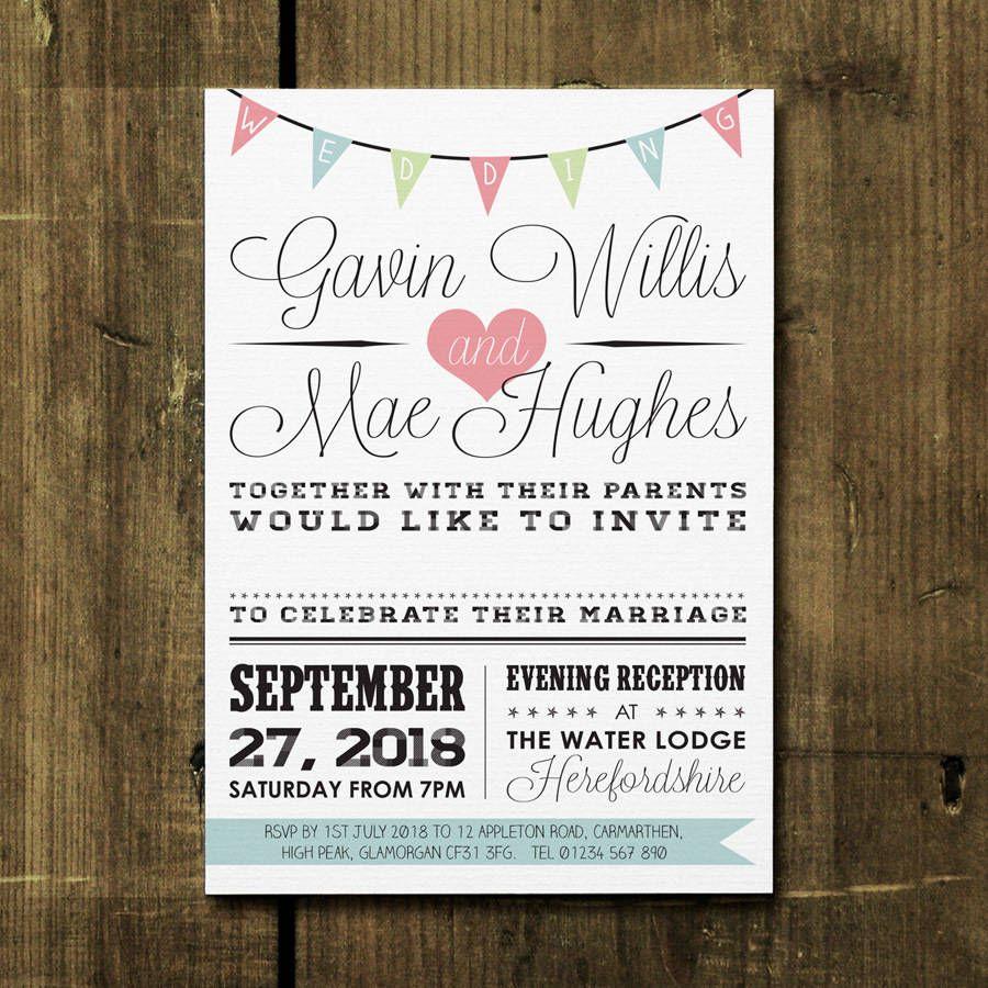 95 Creative Wedding Invitation Designs | Invitation design