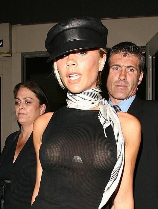 Victoria beckham big nipples