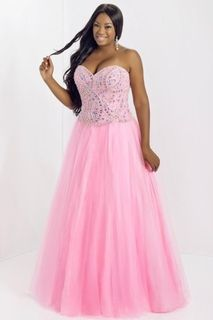 2014 Smart Prom Dresses Princess/A Line Floor Length With Rhinestone Beaded Bodice