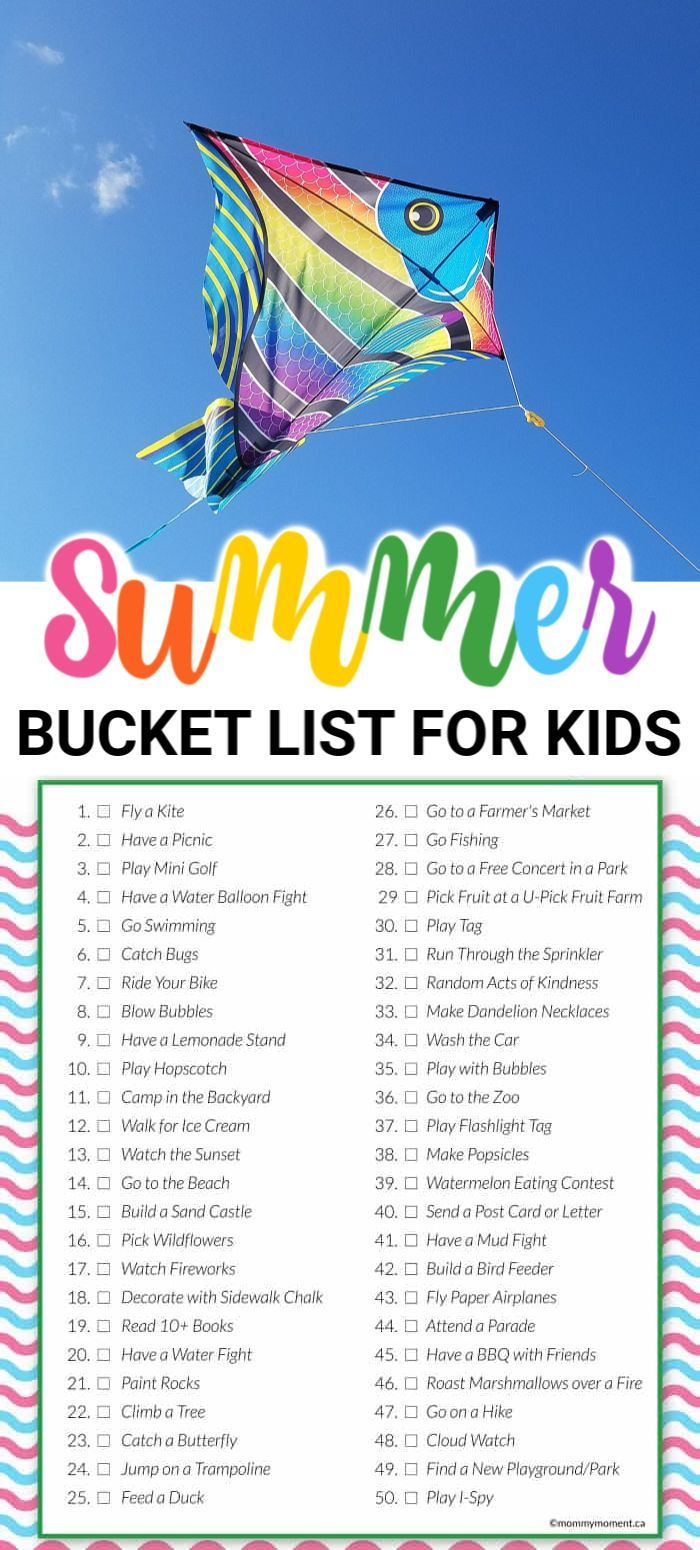 SUMMER BUCKET LIST #summerbucketlists
