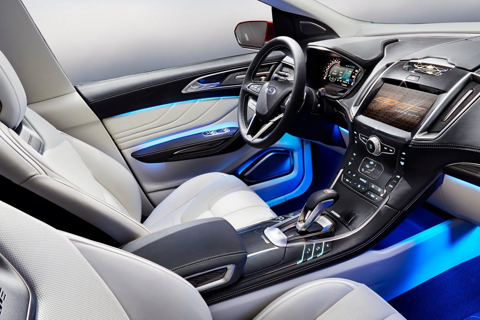 Ford Edge Interior Designed For Europe Early