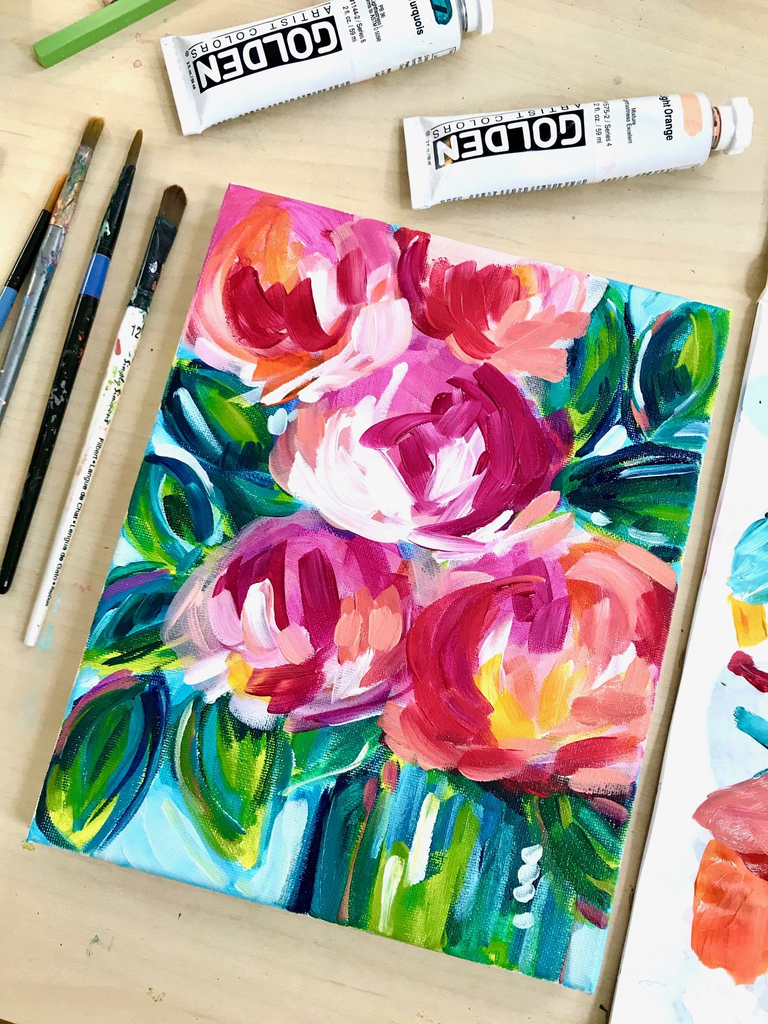 Pin By Rachael Lawson On Watercolor Painting In 2020 Flower