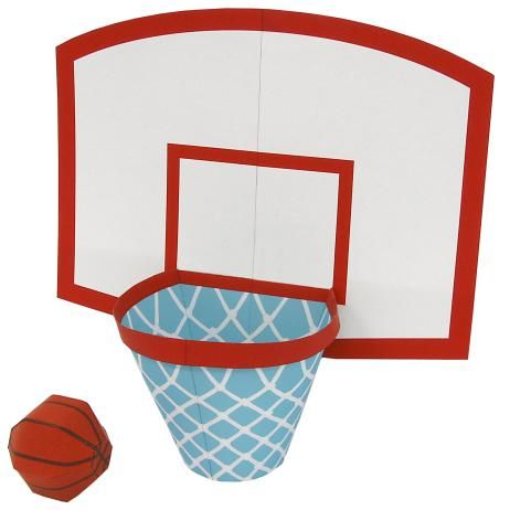 Basketball Game Educational Paper Craft Play Sports Game Basketball Ring Paper Crafts Basketball Crafts Paper Crafts Diy