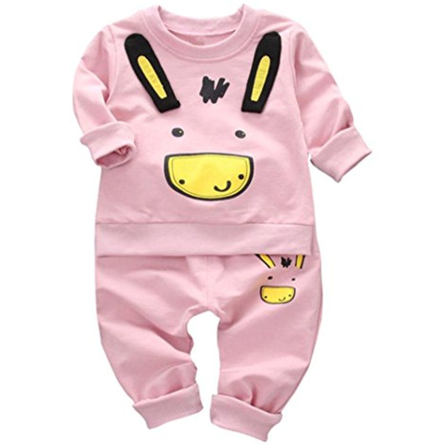 Winter Fall baby Clothing Suit MOKAO 2Pcs Baby Boys Solid Color