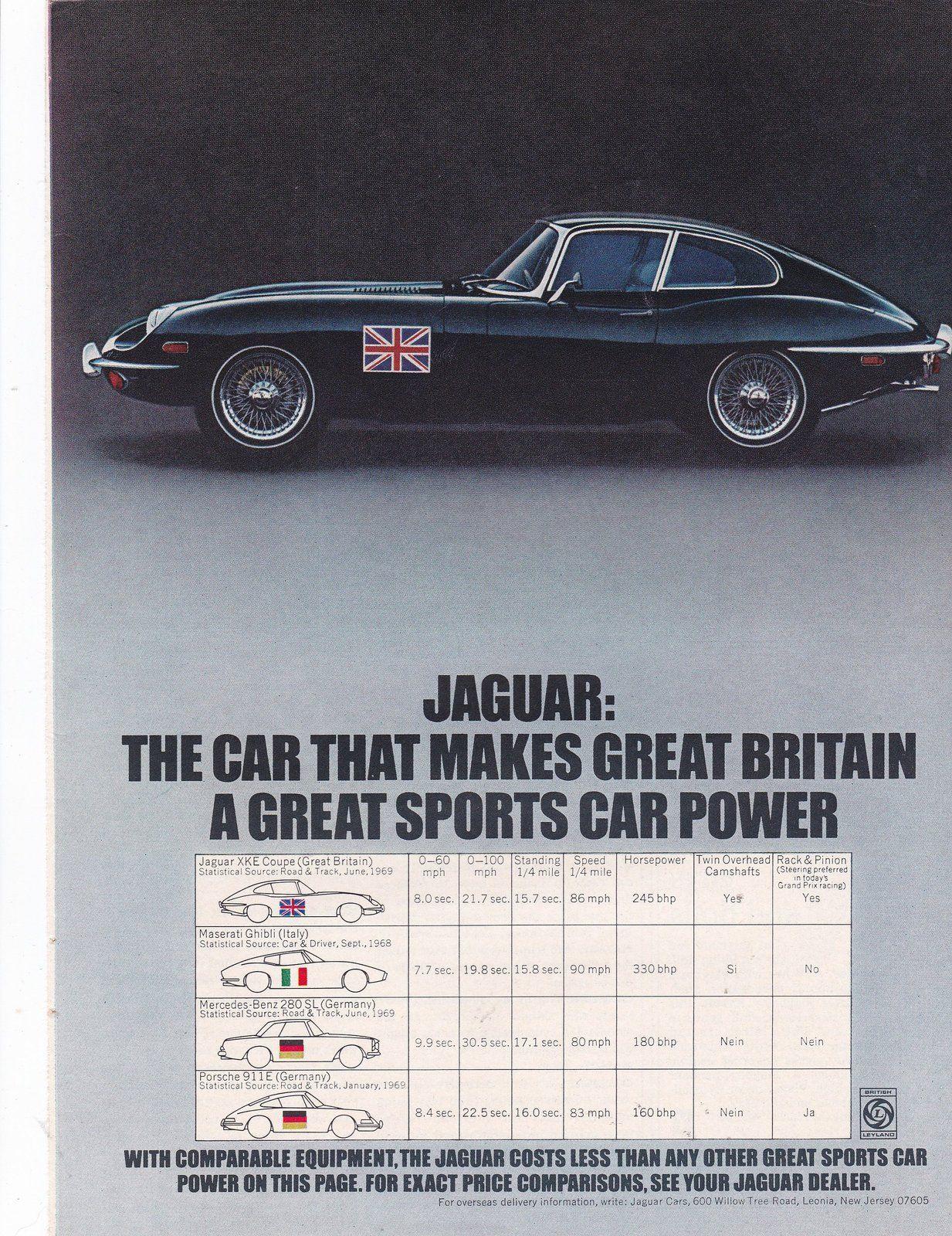 Pin By Thetreasuredgifts On Bonanza Vintage Car Ads Jaguar Car Jaguar Jaguar Sport