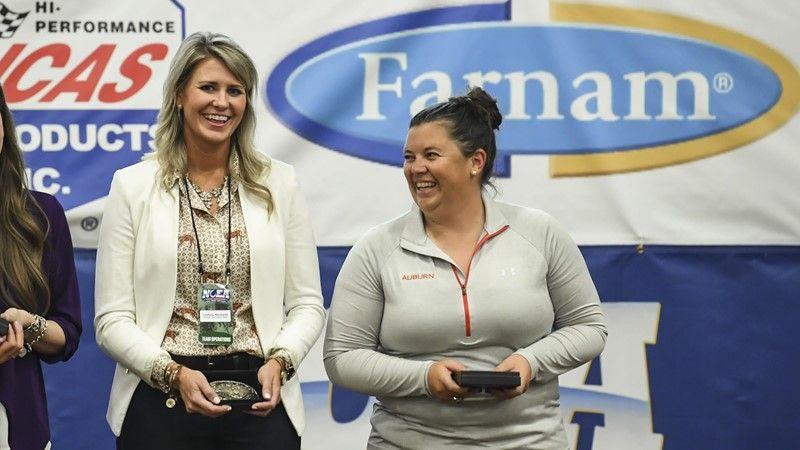 Neubarth, Braswell named NCEA Distinguished Alums - Auburn University Athletics