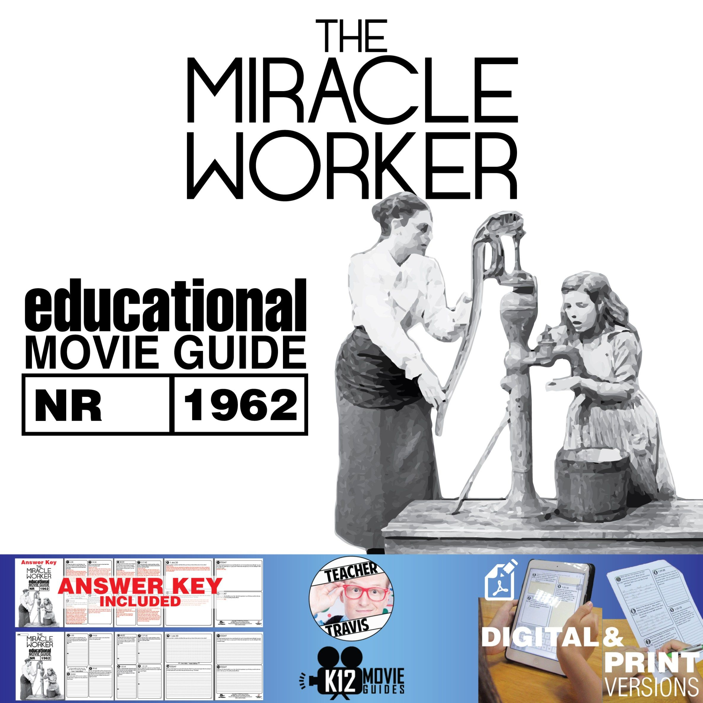 The Miracle Worker Movie Guide Helen Keller Story