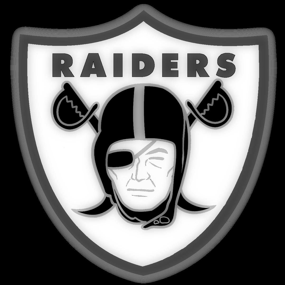 Oakland Raiders Logo (With images) | Oakland raiders logo ...