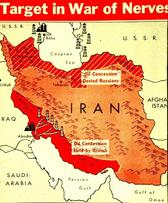 Iran Crisis Historical Geography Iran History
