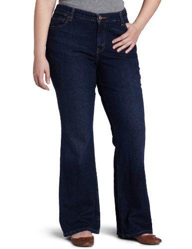 28cd78b7b3599 Levi s Women s 590 Plus-Size Fuller Waist Boot Cut Jean