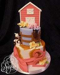 barn animals cake awesome - Google Search