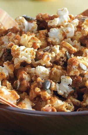Pumpkin Seed Popcorn Snack Mix