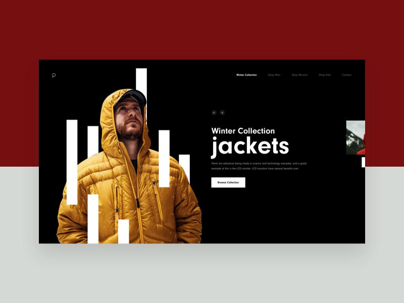 Zx Ecommerce Collection Landing Hero Web Inspiration Ecommerce Design Web Banner Design